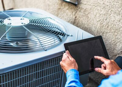Find Top Owasso Heat And Air Companies Tablet Controlled Ac Unit